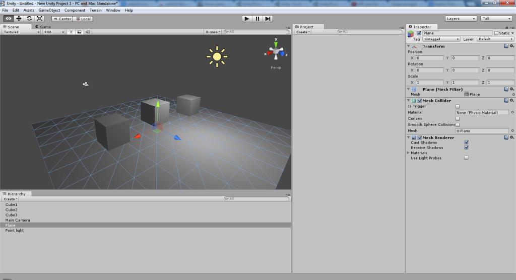 Как сделать игру на unity 3d